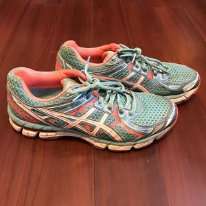 Asics GT-2000 Running Shoes T3P8N Womens Size 8.5